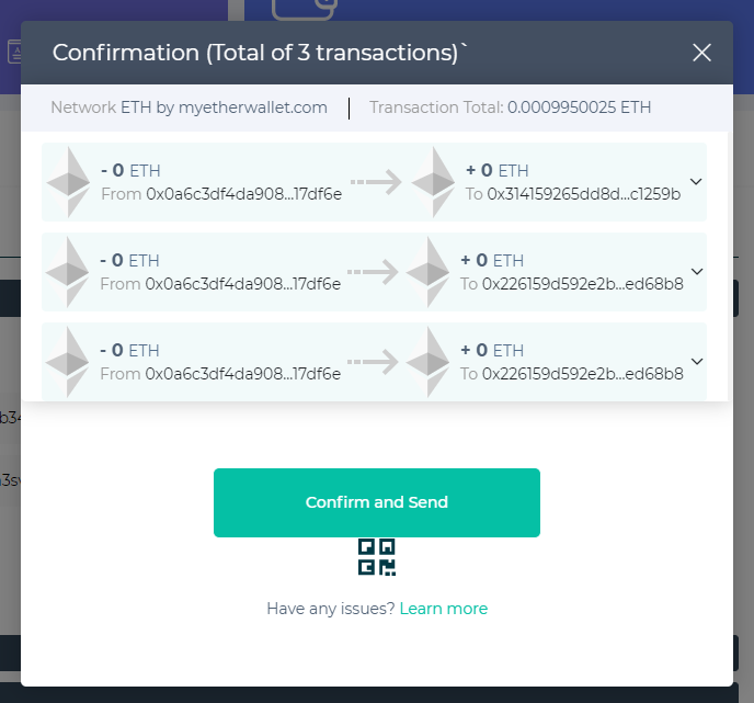 Image of transaction confirmation