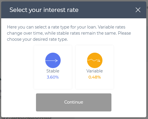 Image of Aave interest rates