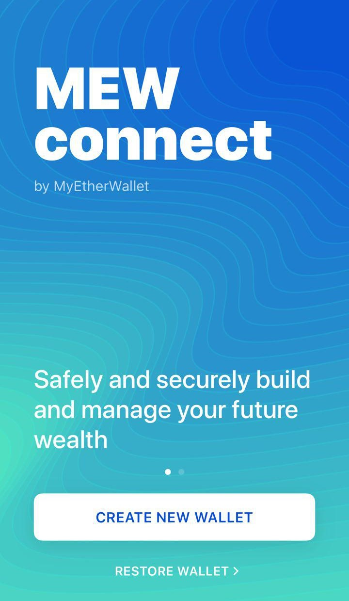 Image of MEWconnect main page