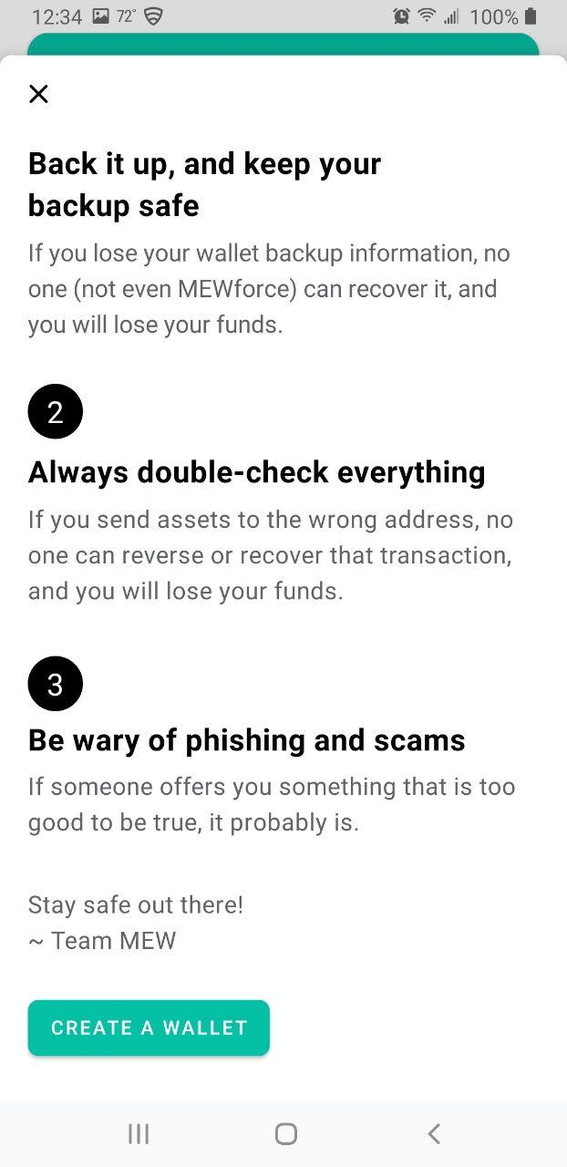 Image of MEW wallet safety tips part 2