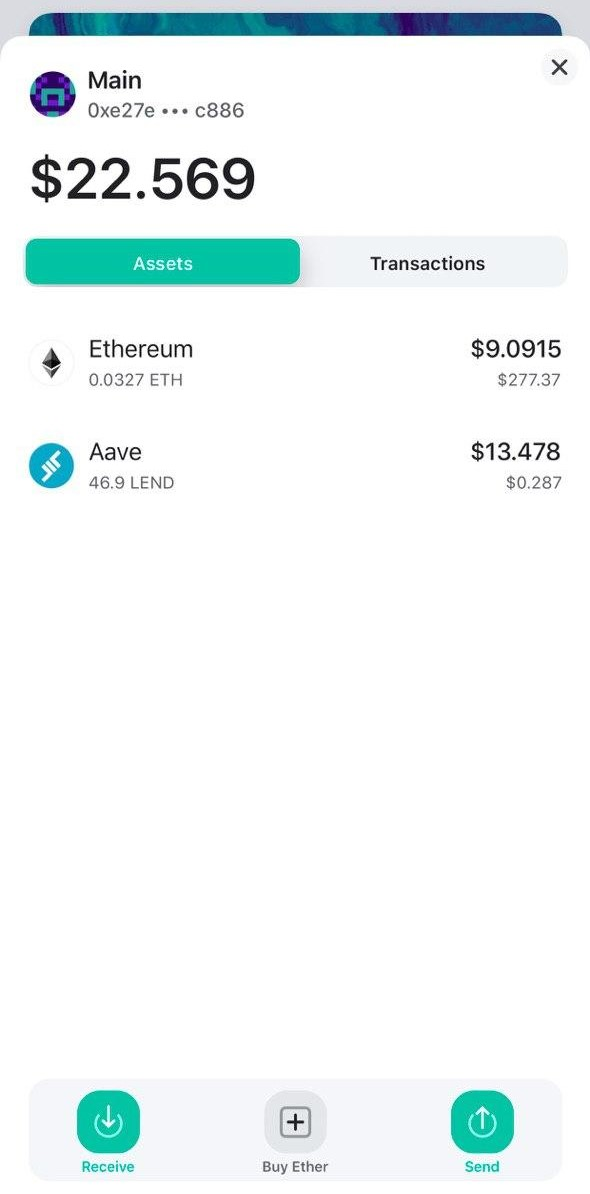 Image of MEW wallet full account details