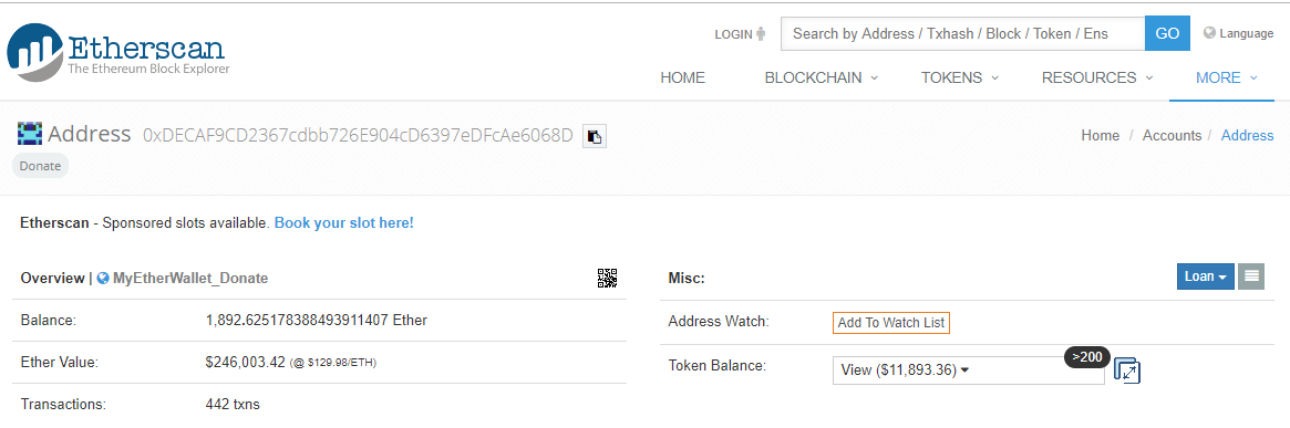 Image of Etherscan